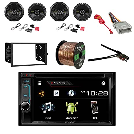 Amazon Kenwood Dvd Receiver With Kicker 634 Inch 600w. Kenwood Dvd Receiver With Kicker 634 Inch 600w Speakers2. Wiring. Car Stereo Wire Harness Gauge At Scoala.co