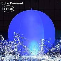 Luces solares Inflable,Luz LED para piscina,Luces Solar