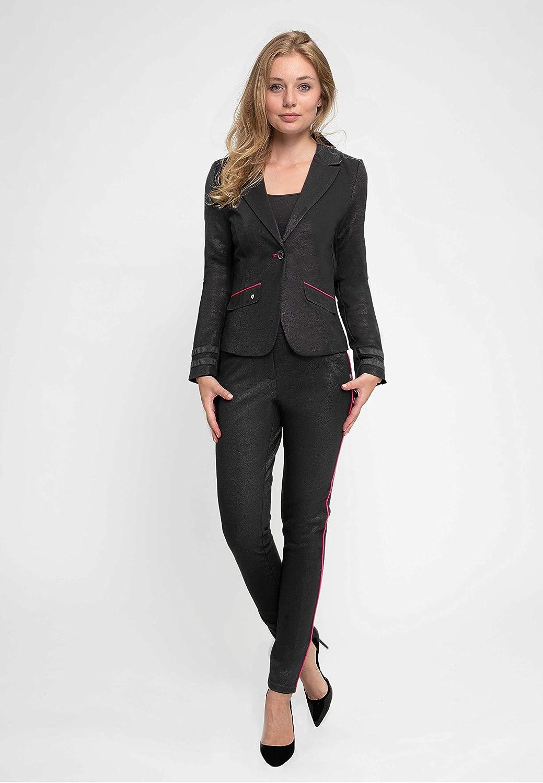 Zhrill Damen Blazer Anzugjacke Elegant Slim Fit Betsy