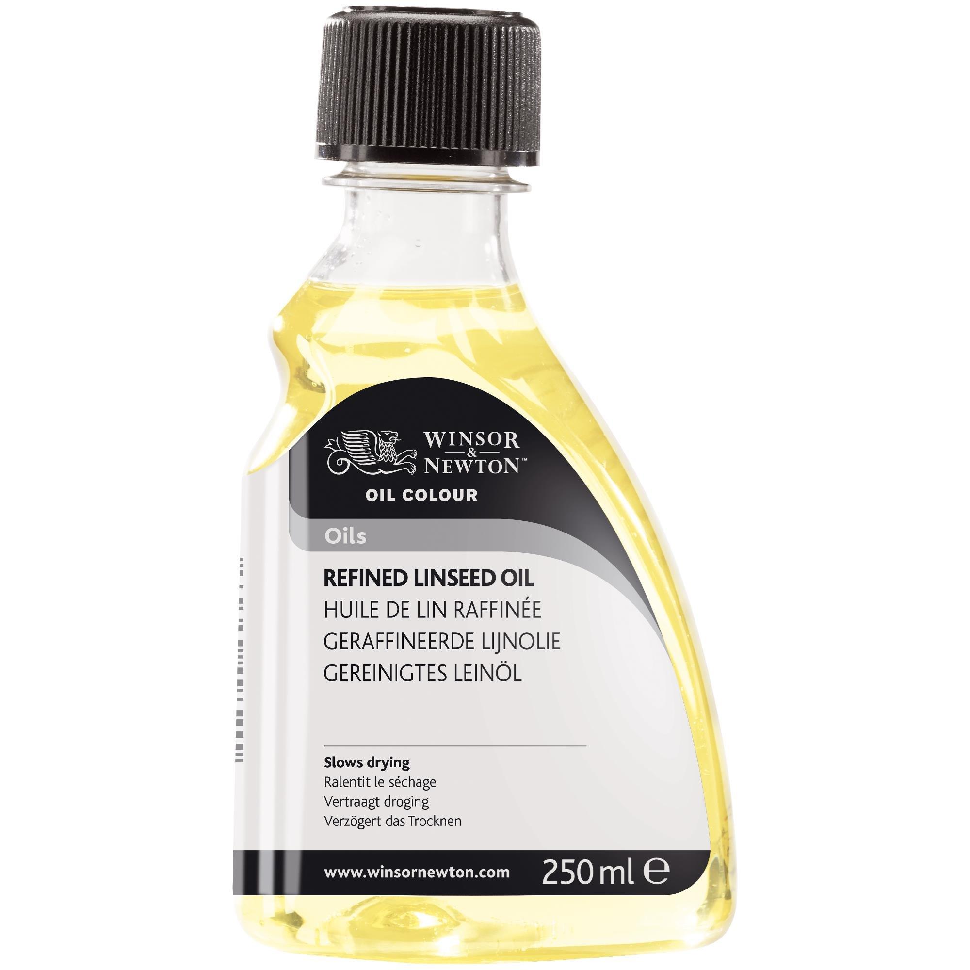 Winsor & Newton Refined Linseed Oil 250ml by Winsor & Newton