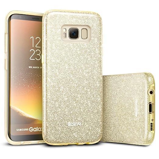 2 opinioni per Cover Samsung S8, ESR Custodia con Glitters/Brillatini, Bling Bling Disegno in