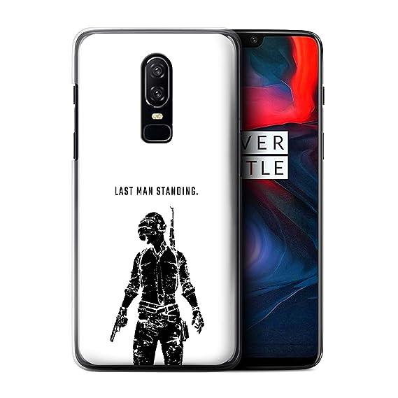 brand new 076c8 590d9 Amazon.com: STUFF4 Phone Case/Cover for OnePlus 6 / Last Man ...