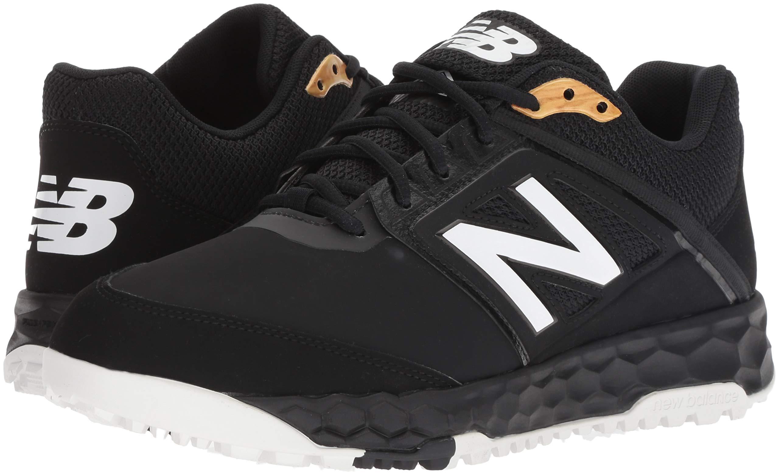 New Balance Men's 3000v4 Turf Baseball Shoe, Black, 5 D US by New Balance (Image #6)