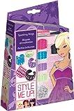 Style me up! - 507 - Kit de Loisir Créatif - Bagues Scintillantes