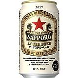 サッポロ ラガービール 350ml×24本