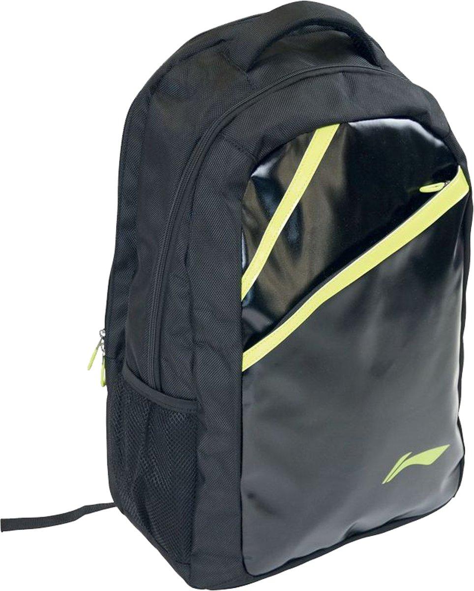 Li-ning Pro Lightweight Bag Badminton Racket Holder Backpack Black & Green