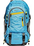 Impulse 50 Ltrs Hiking Lightweight Travel Rucksack Backpack Rowdy (Blue)
