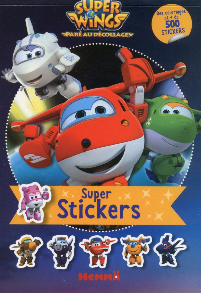 Super Wings Super stickers !: : COLLECTIF: Livres