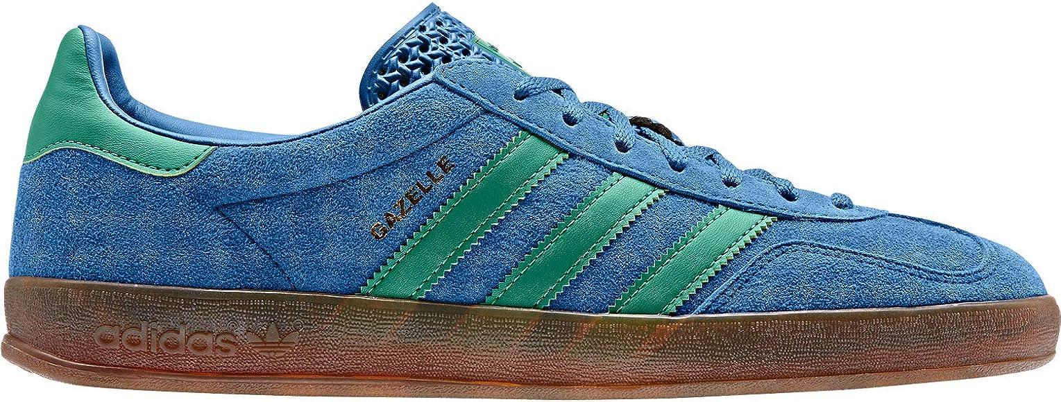 adidas Gazelle Indoor Shoes Blue/Green