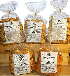 Taralli y bocadillos hechos a mano | Oferta que incluye: Taralli hecho a mano con