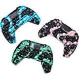 QDASZZ Pop Push Game Controller Gamepad Shape Pop Push tie dye Bubble Sensory Fidget Toy Autism Special Needs Stress…