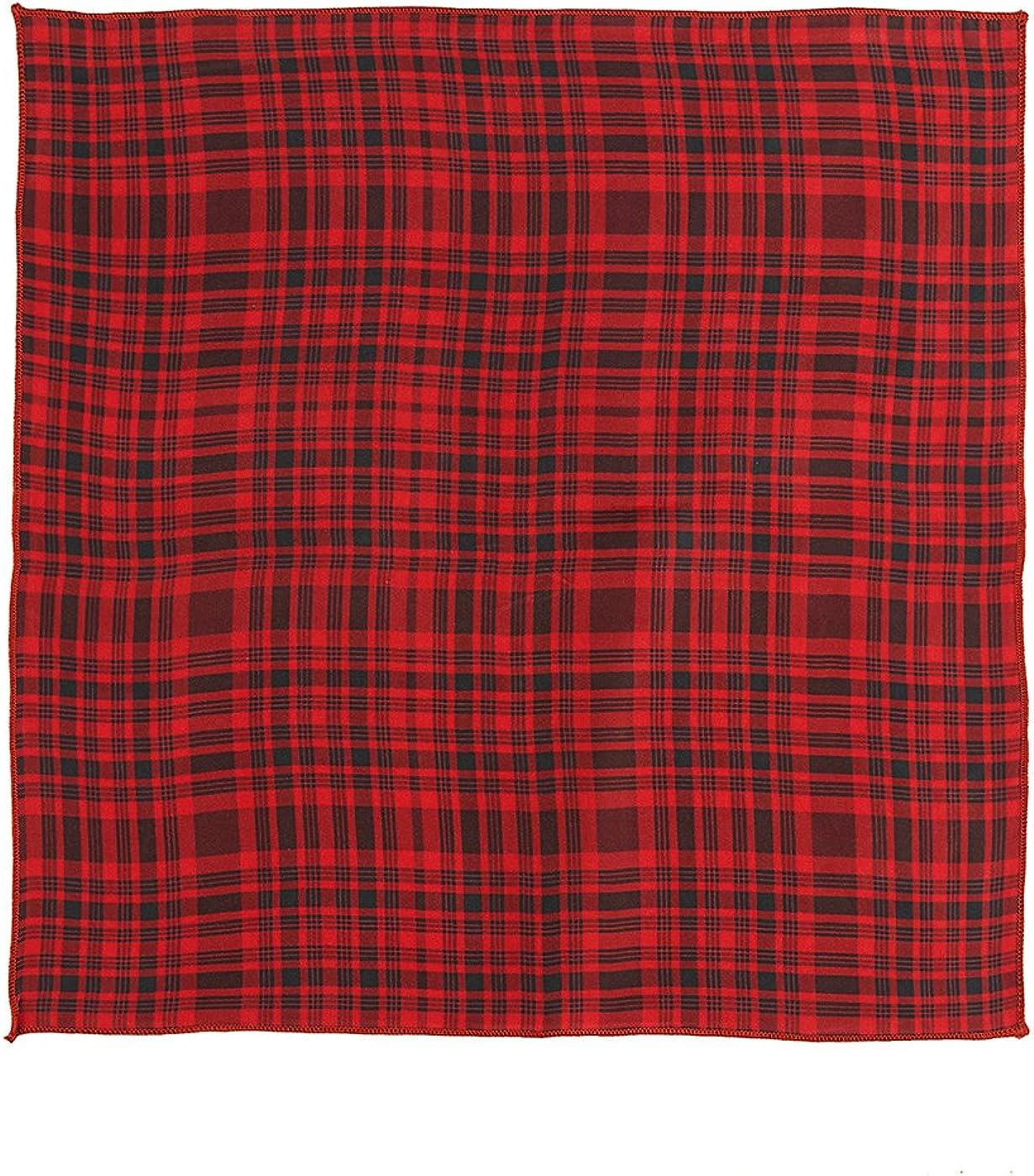 Chokore Red /& Black Silk Tie Plaids line