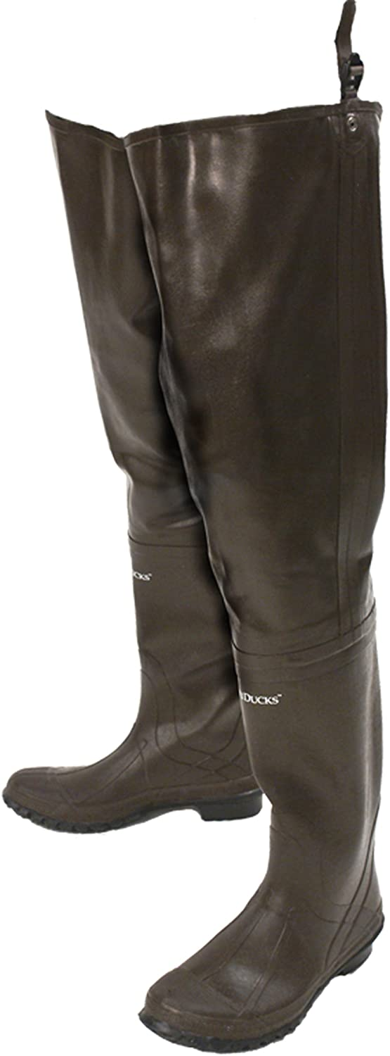 Frogg Toggs Classic Rubber Bootfoot Hip Wader Cleated Outsole