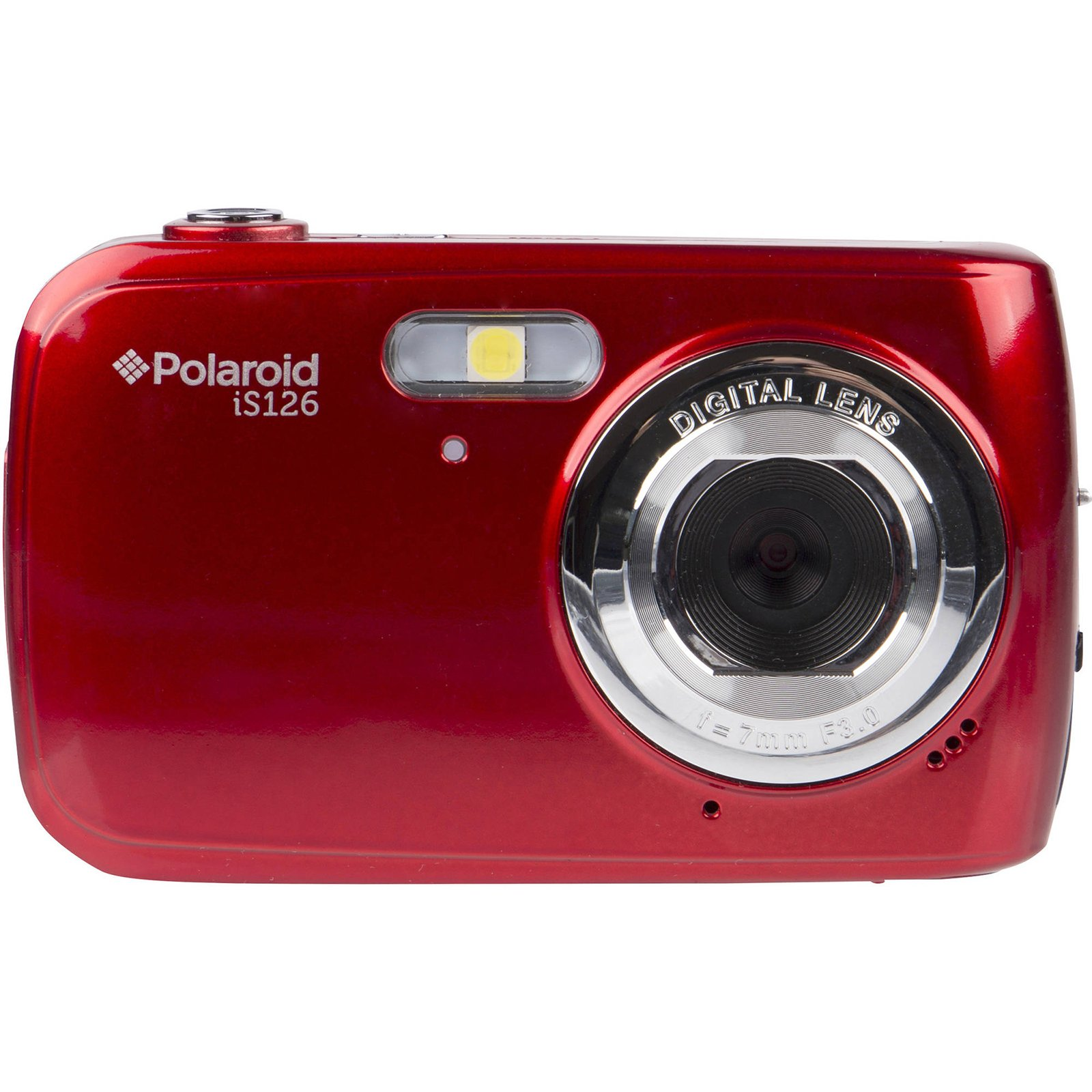 Polaroid iS126 16.1MP Digital Camera (Red) with 32GB Card + Case + Batteries & Charger + Tripod + Kit by Polaroid (Image #2)