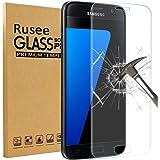 Galaxy S7 Pellicola Protettiva, Rusee Pellicola Protettiva in Vetro Temperato Protezione Dello Schermo Protettore Glass Screen Protector Film per Samsung Galaxy S7 - Trasparenza ad alta definizione, Anti-riflesso, Anti-Bolla, Durezza 9H, Bordi Arrotondati da 2.5D