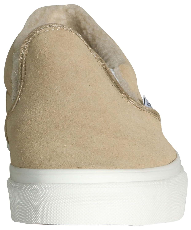 the best attitude 88790 352c8 Zapatillas de skate clásicas para hombre (Gamuza y aderezo) de Vans Khaki    True White