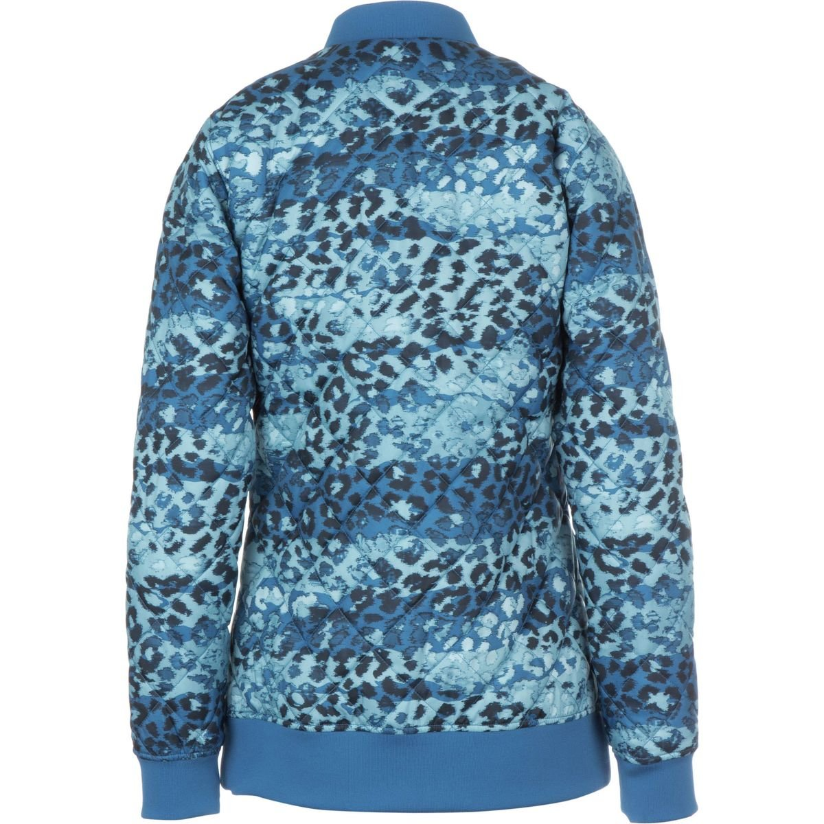 36a4aad763e4 The North Face Anna Insulated Jacket - Women's Dish Blue Leopard Print, S:  Amazon.co.uk: Clothing