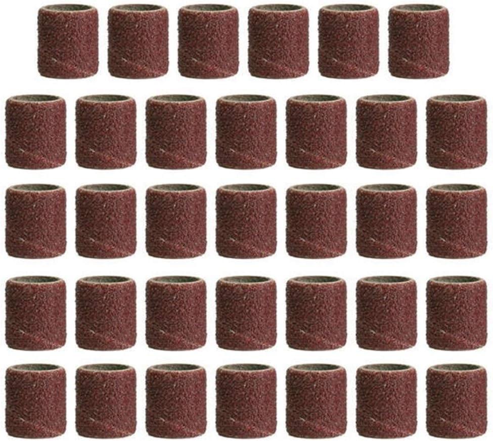 319pcs 3//8 1//4 1//2 Inch Sanding Bands Drums Sleeves 60 120 320 Grit Drum