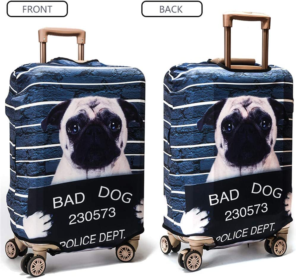 HONMY Travel Luggage Cover Suitcase Protective Cover Trolley Case Cover S , Cat 18-20 Inch Luggage