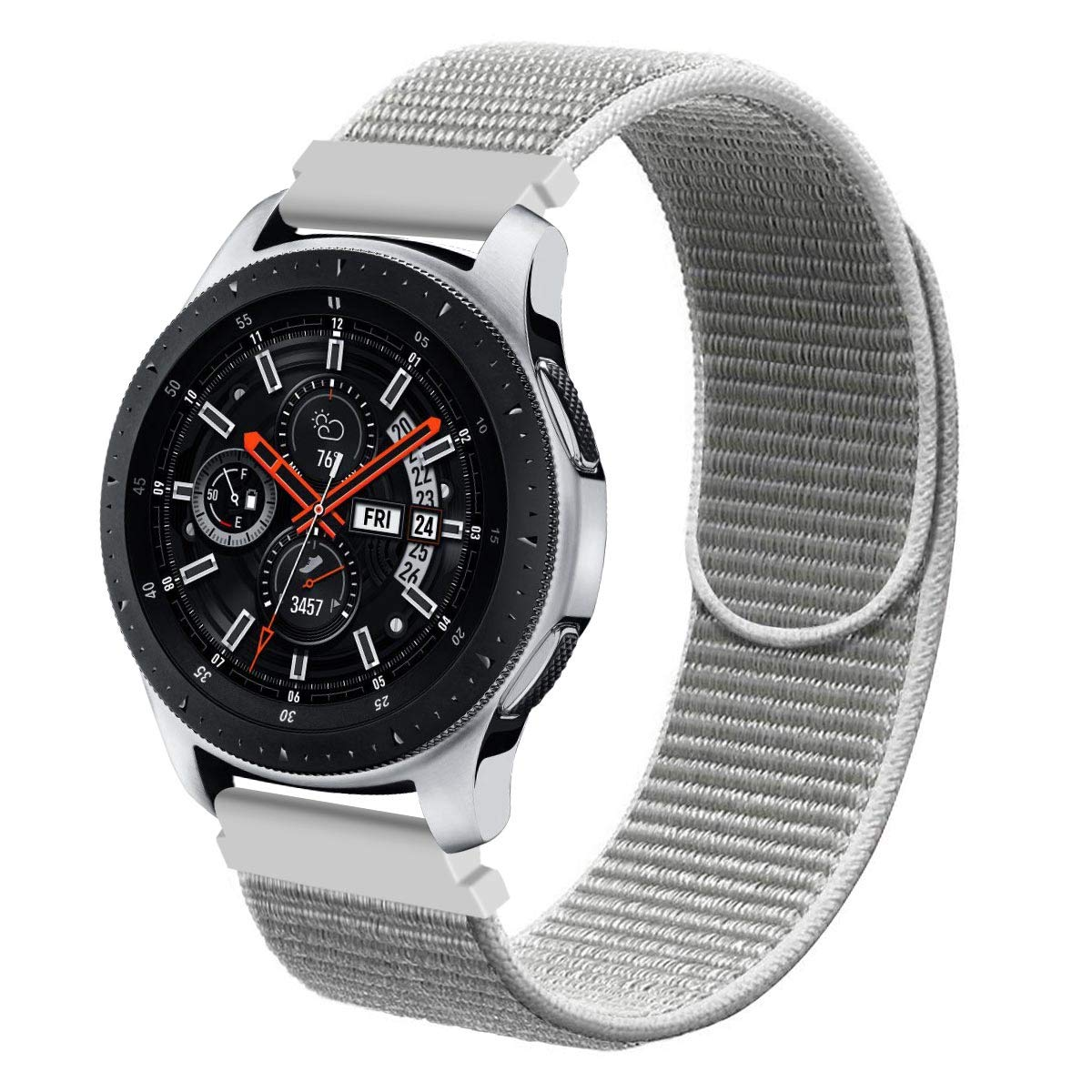Galaxy Watch 46mm Bands, Gear S3 Bands, Wingle 22mm Universal Replacement Strap w/Quick Release Pin Compatible for TicWatch Pro/Huawei Watch GT ...