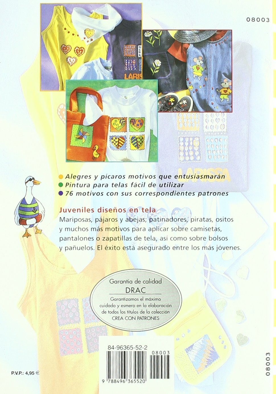 Pintar en tela ropa para niños y jóvenes: Gudrun Hettinger: 9788496365520: Amazon.com: Books