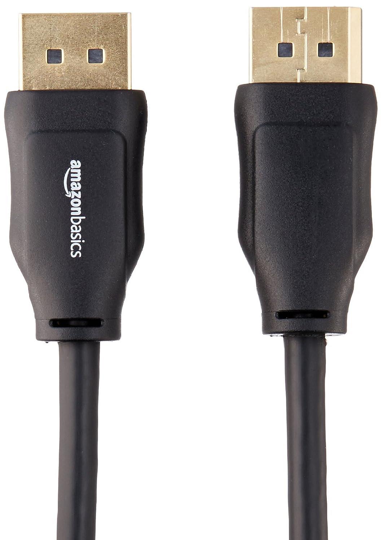 1,8 m Paquete de 10 Cable adaptador DisplayPort a DisplayPort Basics