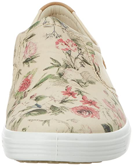 Ecco Soft 7 Ladies, Zapatillas para Mujer, Multicolor (50471MULTICOLOR/Limestone/Powder), 41 EU