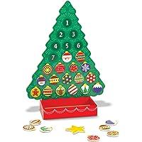 Melissa & Doug 13571 - In Attesa Del Natale Calendario dell'Avvento di Legno