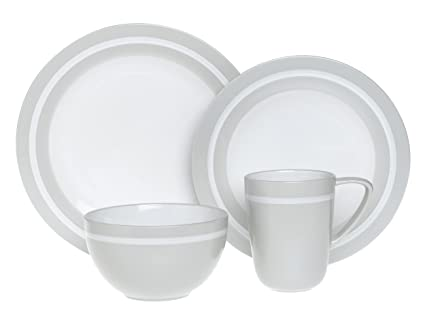 Emeril Professional 24-Piece Dinnerware Set Service for 6 Adobe Clay  sc 1 st  Amazon.com & Amazon.com | Emeril Professional 24-Piece Dinnerware Set Service ...