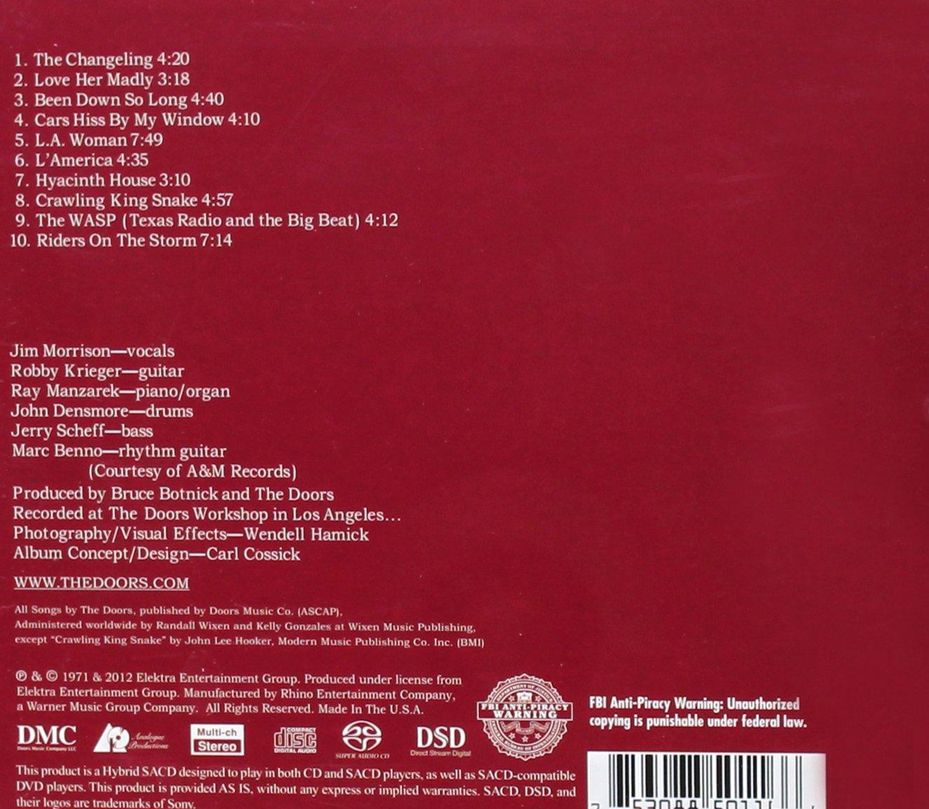 The Doors La Woman Amazon Music