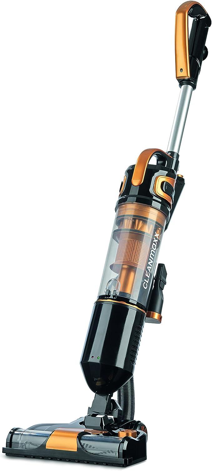 CLEANmaxx 07517 - Aspiradora vertical ciclónica, 14,8 V, tecnología inalámbrica ciclónica, eléctrica, cepillo turbo giratorio, sistema de filtro HEPA: Amazon.es: Salud y cuidado personal