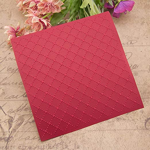 WYSE Plastic Embossing Folders for Card Making 5.95.9inch
