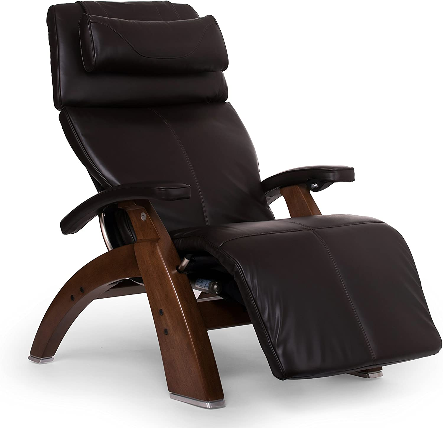 "Perfect Chair ""PC-610 Omni-Motion Classic"" Premium Full Grain Leather Zero Gravity Recliner, Espresso"