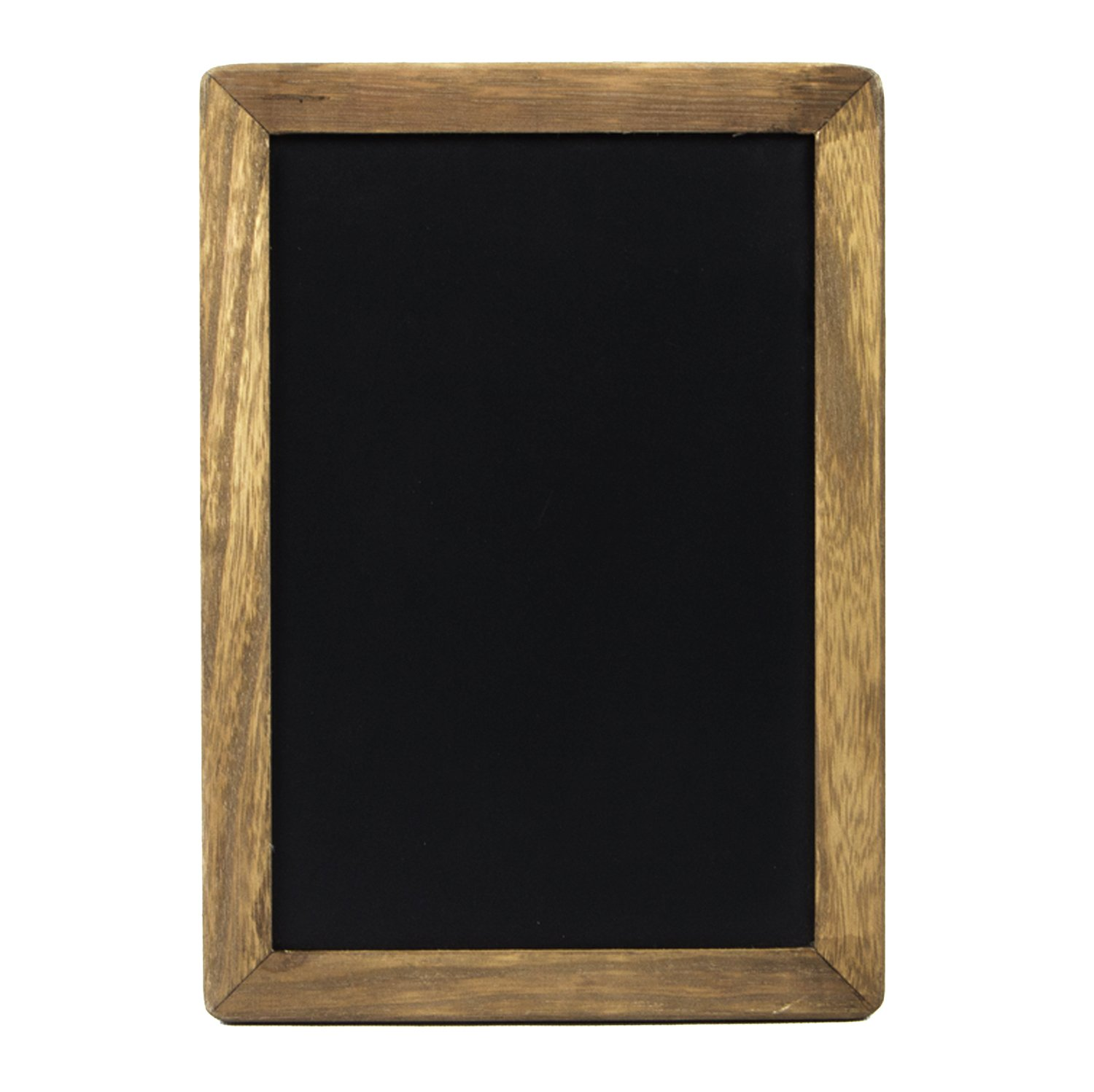 Rustic Kitchen Chalkboard Menu Sign (10x14'') with Wood Frame and Non Porous Magnetic Chalk Board Surface for Vintage Decor for Restaurant, Bar Countertop, Wedding, and Home