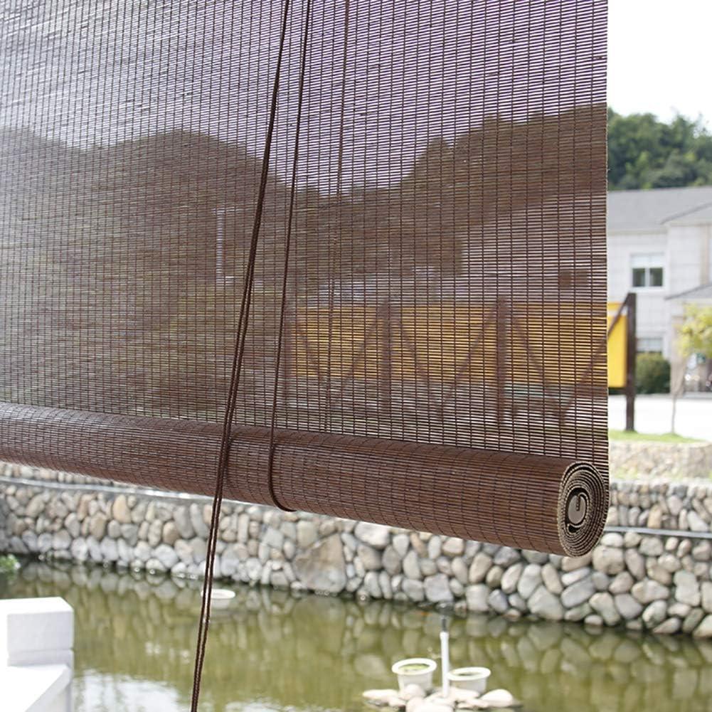 Estor enrollable Veranda exterior, filtrado de la luz, cortina enrollable, plataforma, cenador, pérgola, balcón, toldo de sol (tamaño: 135 x 180 cm): Amazon.es: Hogar