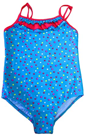 4fc499f972 LORA DORA GIRLS CHILDRENS KIDS SWIMWEAR SWIMMING COSTUME BLUE MULTI SPOT  SUMMER BEACH SIZE 3- Sc 1 St Amazon UK