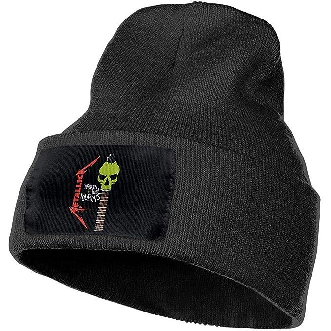 Hombres y Mujeres Metallica Skull Beanie Sombreros Gorras Tejidas ...