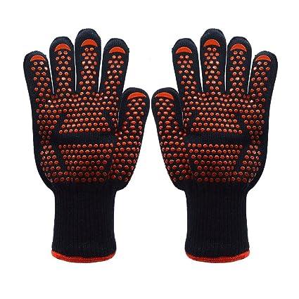 Amazon Com Koeads Fire Resistant Gloves Fire Pit 932 F Heat