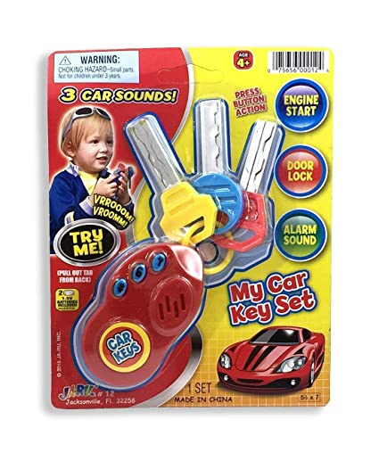 Toys & Hobbies Parts & Accessories Good 2019 Car Key Toy Remote Control Key Kids Educational Toy Car Key For Kids Baby Toddler Remote Control Toys