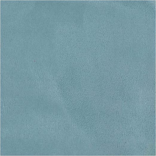 "Suede Micro Faux Suede Sky Blue  Upholstery Drapery Fabric by the yard 60/"" Wide"