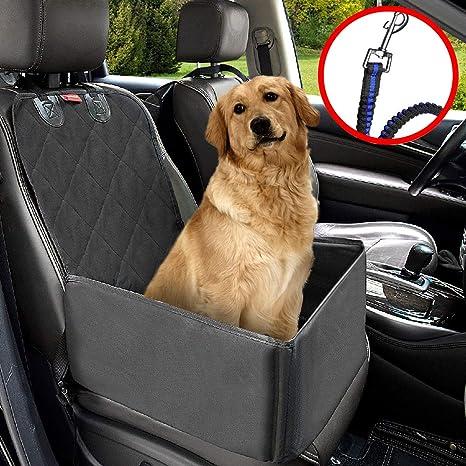 Hunde Autositz MATCC Sitzbezug für Vordersitz Wasserdicht Hund Autositzbezug Autositz Für Haustier Abriebfest Hund Sitzbezug