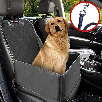 MATCC Pet Car Booster Seat Dog Supplies Waterproof Cover Single Front