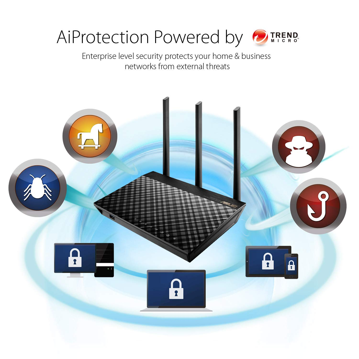 ASUS RT-AC57U Dual-Band Gigabit Wireless Router USB port for FTP 3G//4G Dongle Support Router//AP Mode Media Server