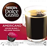 Nescafe Dolce Gusto for Nescafe Dolce Gusto Brewers, Cafe Americano, 16 Count