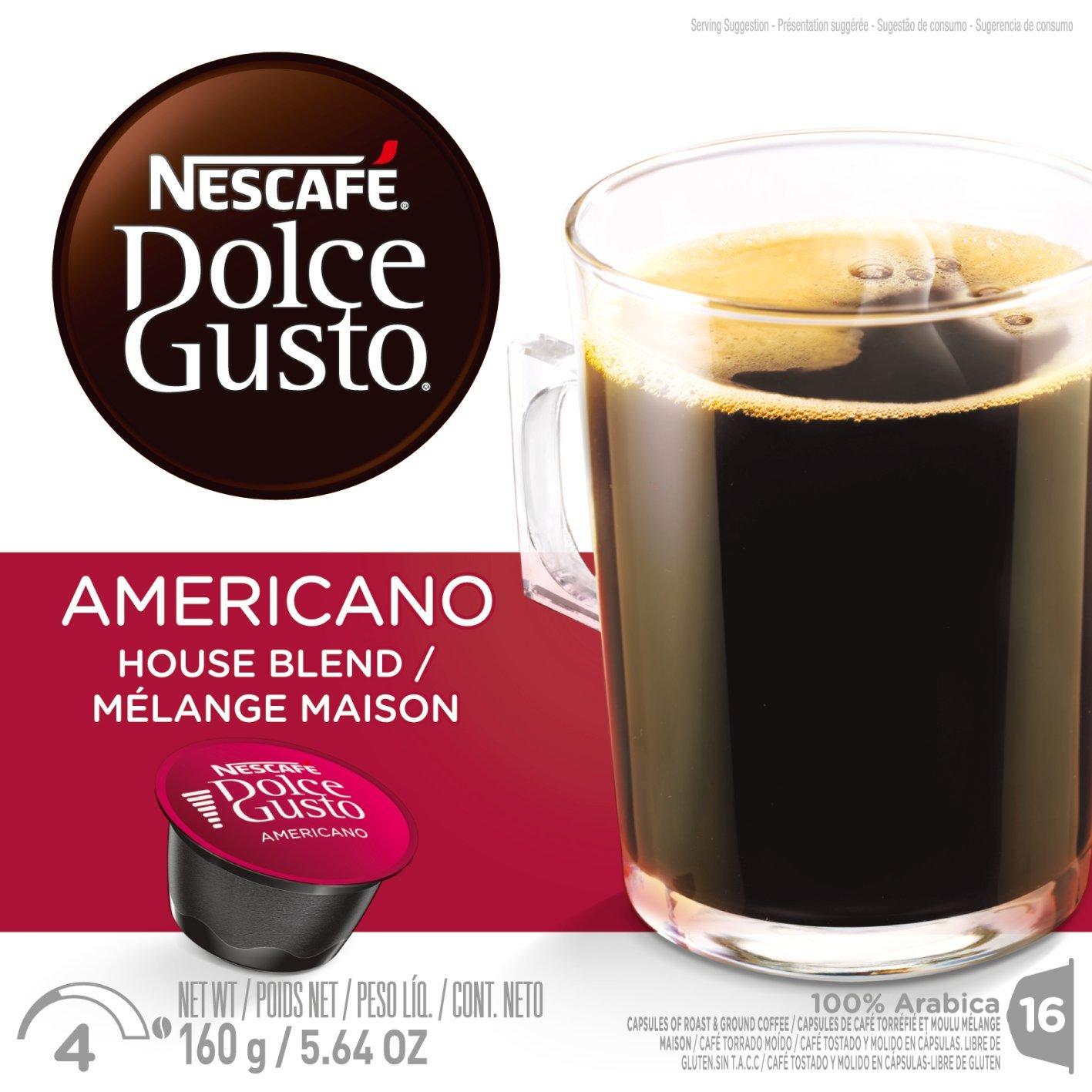 Coffee Capsules, Americano, 1.86 oz., 16 per Box: Amazon.es: Alimentación y bebidas