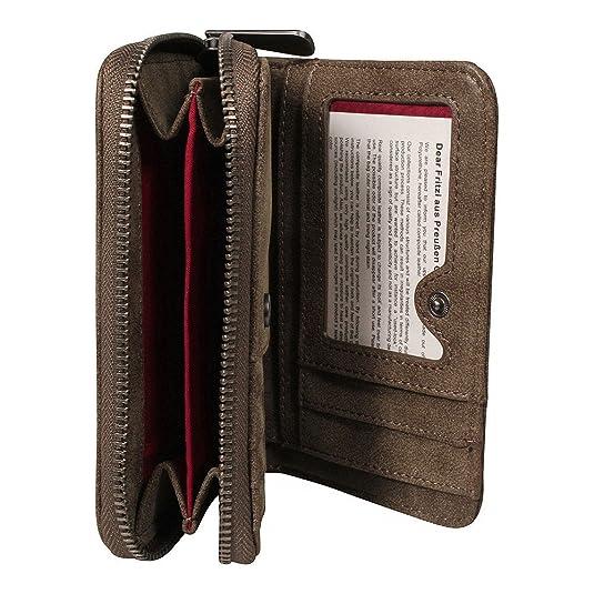 Heide, Womens Wallet, Schwarz (Black), 4x11x19.5 cm (B x H T) Fritzi Aus Preu?en