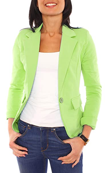 Easy Young Fashion Chaqueta de Traje - para Mujer