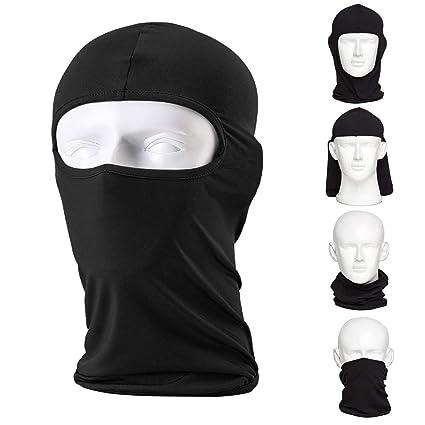 L & M pasamontañas máscara de esquí (2 Pack), motocicleta ...