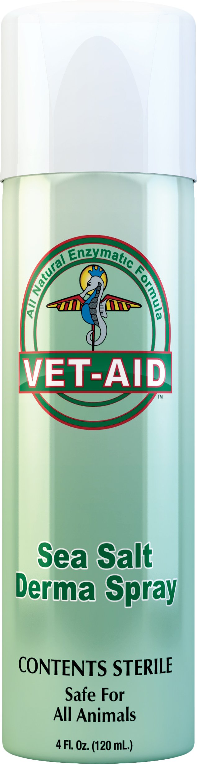 Vet Aid Sea Salt Wound Care Spray, 4-Ounce by Vet Aid