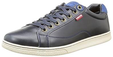 66db669231 Levi's 221764, Baskets Basses Homme, Bleu (17), 42 EU: Amazon.fr ...